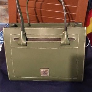 Dooney & Bourke Janine Leather Satchel